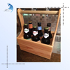 Natural Solid Antique Decorative Wooden Wine Racks Wooden Wine Holder/Wooden Wine Bottle Holder