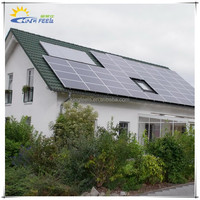Residential Pitched tile roof solar panel mounting system