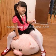 Kid Bean Bag Chair, kid Bean bag Sofa, Pig shape