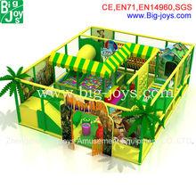 diseño de la selva parque infantil de interior, zona infantil de juegos interior