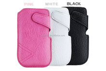 Leather Pouch Wallet Case For Apple Iphone6 5g 4s Side Flip Magnetic Cover