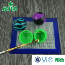 The most full colors silicone factory in China all kind of silicone products silicone jars dab wax container
