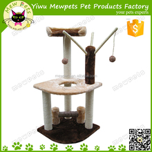 paw print meidum cat tree with sisal post cat tree with dangling toys