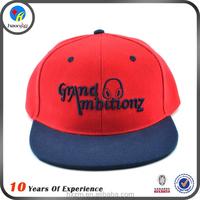 new adjustable snapback hat custom design
