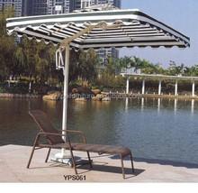 Corrientes forest cloth aluminum sun lounger YPS061