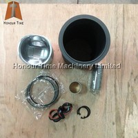 Diesel engine parts for 4D92 4D94 6D96 6D102 6D105 6D125 liner kit main bearing cylindr block water pump fan blade