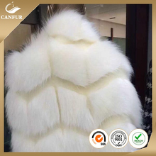 Custom color soft warm long pile fake fur fabric