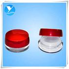 de plástico vazias cosméticos acrílico frascos de creme