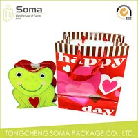 Designer promotional decorative gift bags in recycled paper