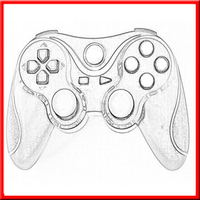 Wholesale Brand New for playstation 3/ps3 cheap console game controller