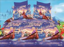 fancy frozen princess european size duvet covers scroll jacquard sheet set