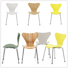 Seven Different Colors Stackable Cheap Garden Metal Bistro Chair