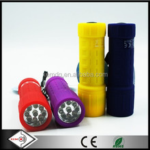 9 LED Promotional Mini ABS Flashlight