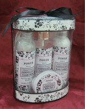 Herbal Extracts Bath Gift Set for family use