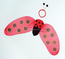 wholesale Party large Feather ladybug fairy wings FW-0035