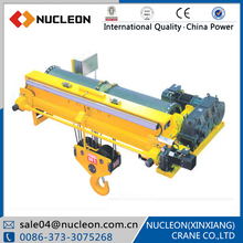 NUCLEON wireless remote control warehouse overhead crane for sale