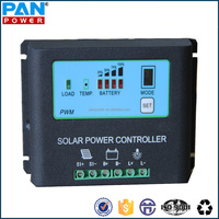 High efficiency LCD/LED solar panel charge controller 12V 10A