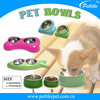 China wholesale stainless steel melamine pet bowl dog feeder bowl pet bowl for dogs and cats