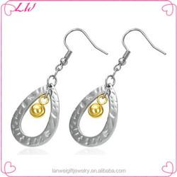 2014 Fashion Dangle Earring Stainless Steel Earring