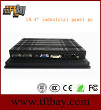 """10.4,12.1"""",15"""",19 inch Fanless industrial panel PC, Linux Touch rugged IPC, Intel Rugged Panel Computer"""
