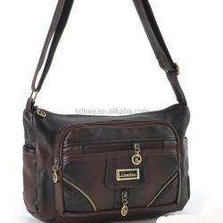 Manufacture wholesale hot sale PU shoulder bag