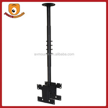 P-40 Height adjustable steel swivel 200 and 200 vesa double side tv ceiling mount