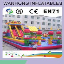 Giant commercial jungle inflatable castle , inflatable jumper backyard bouncer, high quality inflatable bouncers