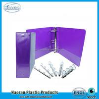 PVC File Folder, Plastic PVC Binder Clip File Holder, Plastic 3 ring binder file cover