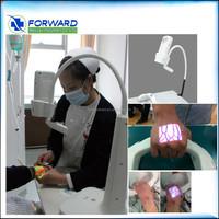 High technology medical devices near infrared light installed vein viewer vein locator