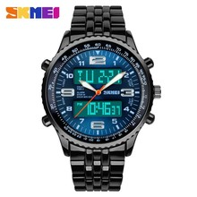 Hot selling unique design 2015 stylish Dual Watch for business man online store