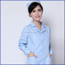 nurse hospital uniform/ white hospital nurse uniform / doctor's uniform