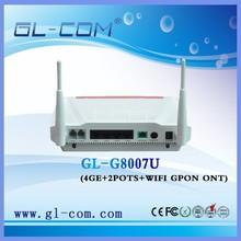 GL-G8007U GPON ONT 4LAN+2POTS+WIFI for Optical Internet Access