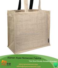 Blank canvas jute wholesale tote bags
