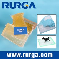 Seat Protection Pads with Hot Melt Adhesive, Disposable Baby Sanitary Napkin Glue