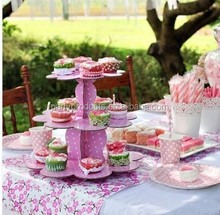 3 Tier Cake Stand for Birthday/Wedding Cake Decoration Items
