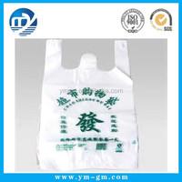 Vinyl heat resistant plastic bag for packaging