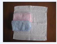 100 cotton terry hand towel 12''*12''