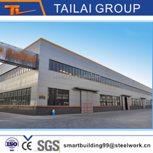 Made in China Pre Engineering Steel Structure Building