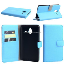 2015 new Wallet design leather cover case for nokia 640 XL