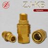 ZJ-KB high pressure wash straight through brass quick disconnect coupler