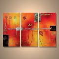 popular decorativo moderno abstracto a mano abstracto flor de la imagen