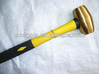 competitive price non-sparking brass mallet hammer