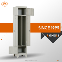 Longli Hot Product with Low Price Z Shape Locker/Metal Locker Cabinet/Gym Locker Room Furniture