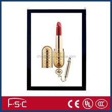 acrylic panel and aluiminum frame magnetic led slim light box