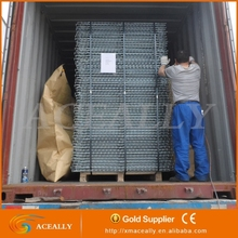 galvanized wire mesh folded storage cage