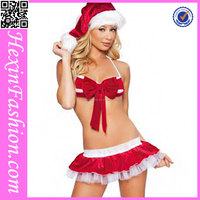 Hexin Fashion Sex Cheap Christmas Costume for Adult No MOQ