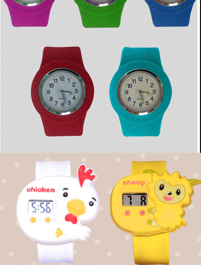 Best-selling an popular silicone watch with logo design on the silicone watch