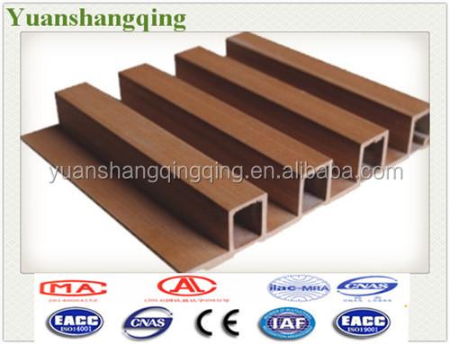 Eco Friendly Lumber Interior Decoration Wood Plastic