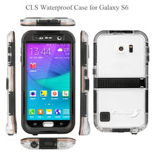 For Samsung Galaxy S6 Waterproof Case, Silicone Case for Samsung Galaxy S6