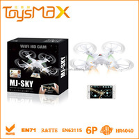 WIFI rc drone quadcopter with hi resolution camera